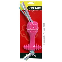 Dog Toy TPR Dull Stick-Pink