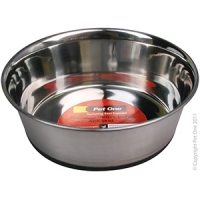 Bowl Premium Heavy Duty Anti Skid S/steel 600ml