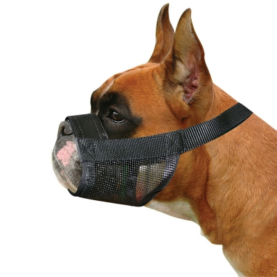 Adjustable Boxer Nylon Muzzle