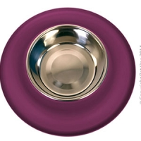 Bowl Silicone S/S Clean Bowl S 160ml Burgundy