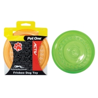 Dog Toy Activ Frisbee Green 23cm