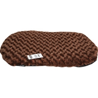 Cushion For Plastic Bed 57cm PV Fleece Brown