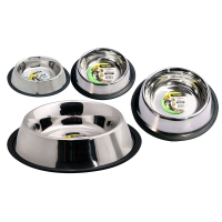 Bowl Anti Skid Anti Tip S/steel 700ml