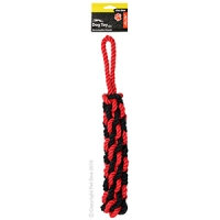 Dog Toy Activ Rope Pull Red Black Large 45cm