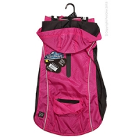 Dog Coat RainBuddy Water Resistant 45cm Pink