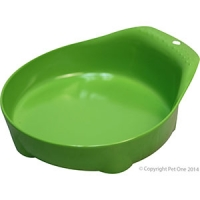 Bowl Small Animal/Small Dog 210ml Melamine Lime Green