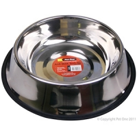 Bowl Anti Skid Anti Tip S/steel 1.8L