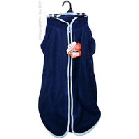 Coat Dog JumpSuit Heavy Fleece Zip Up 60cm Blue