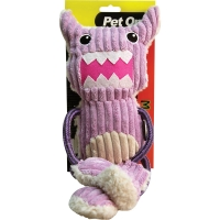 Dog Toy Monster Rope Arms & Legs Cow