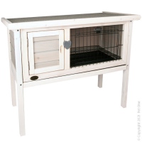 Rabbit Hutch Wooden  (S) 91.5W X 45D X 70.5hcm